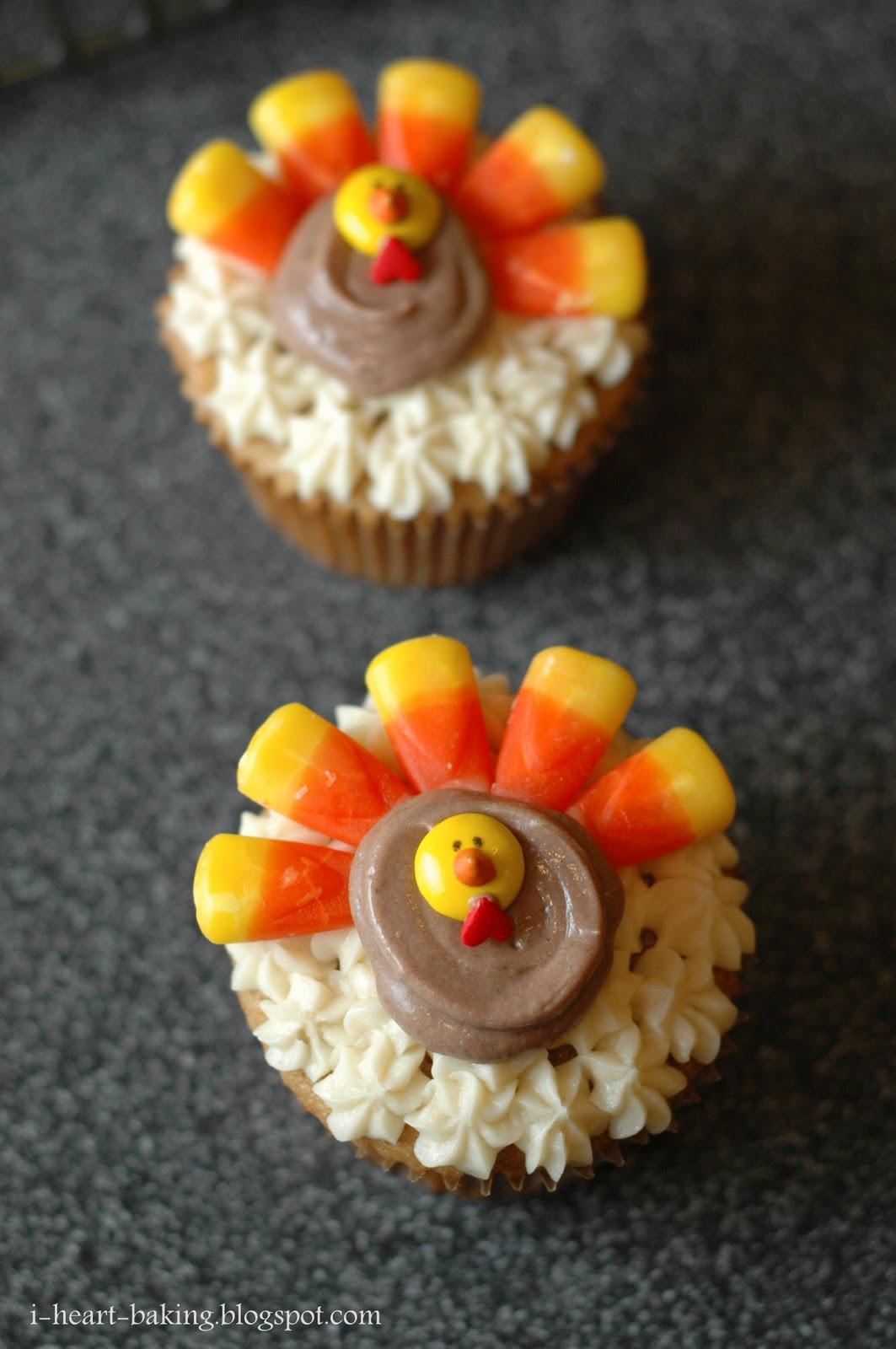Thanksgiving Turkey Cake  i heart baking thanksgiving turkey cupcakes brown