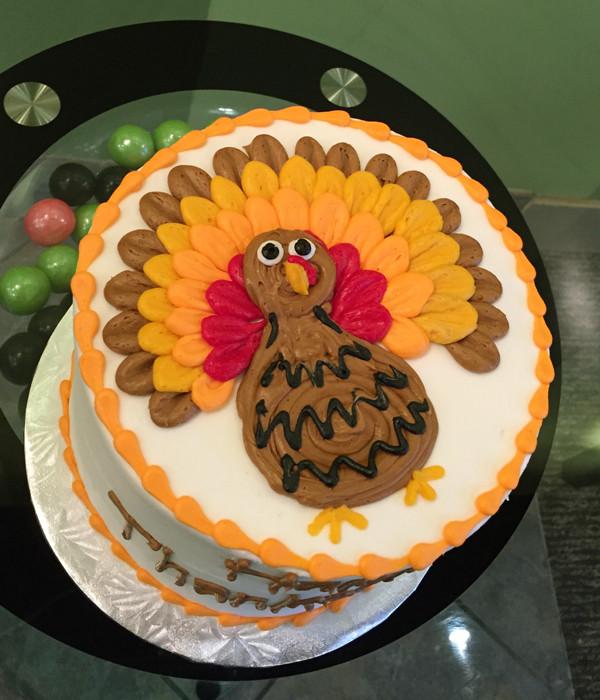 Thanksgiving Turkey Cake  Thanksgiving Turkey Layer Cake – Classy Girl Cupcakes