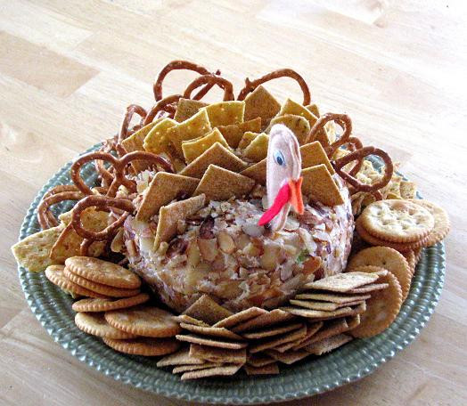 Thanksgiving Turkey Cheese Ball  All The Joy Tuesday 10 10 Amazing Thanksgiving Recipes