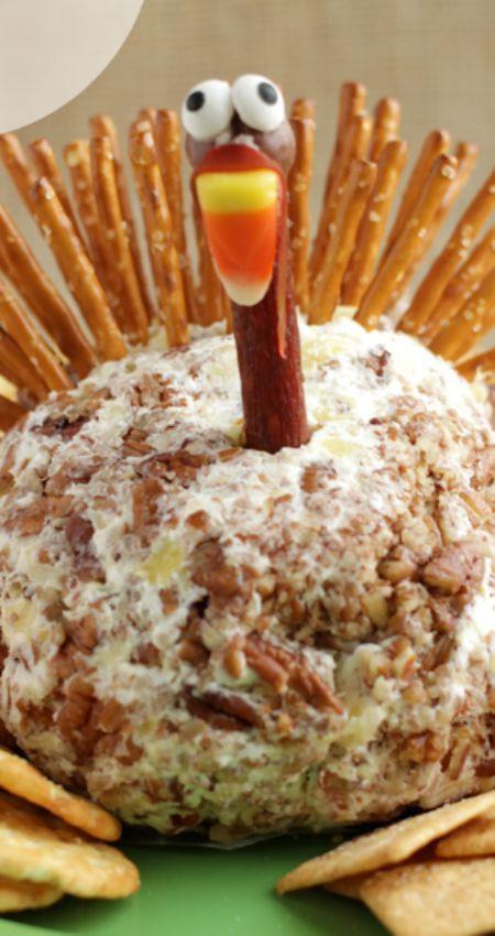 Thanksgiving Turkey Cheese Ball  1000 ideas about Turkey Cheese Ball on Pinterest