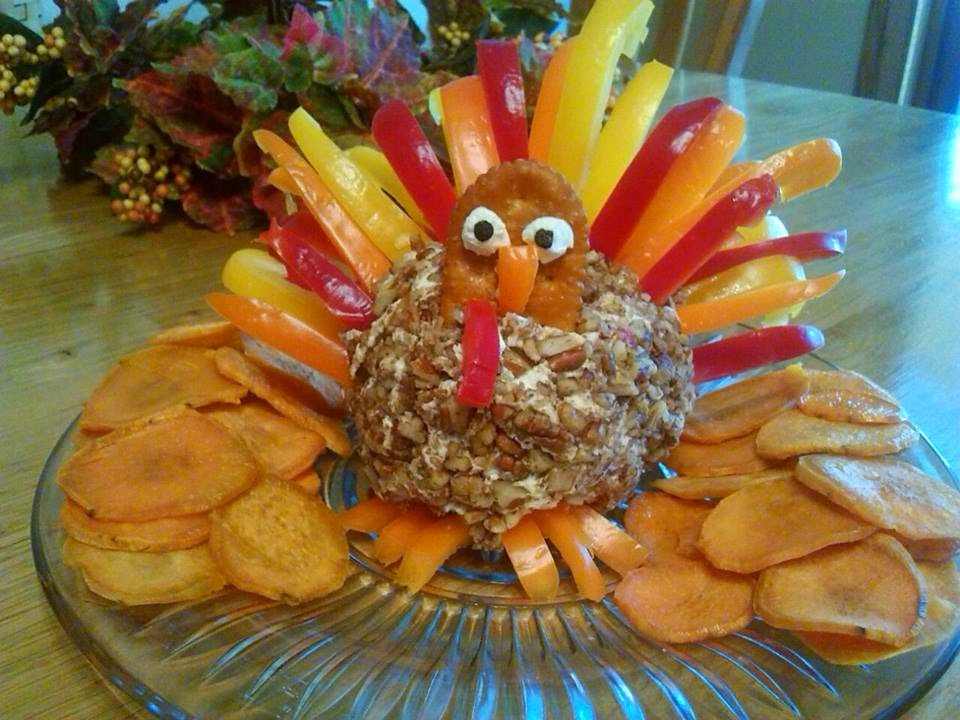 Thanksgiving Turkey Cheese Ball  The Little Things in Life Thanksgiving Turkey Cheese Ball