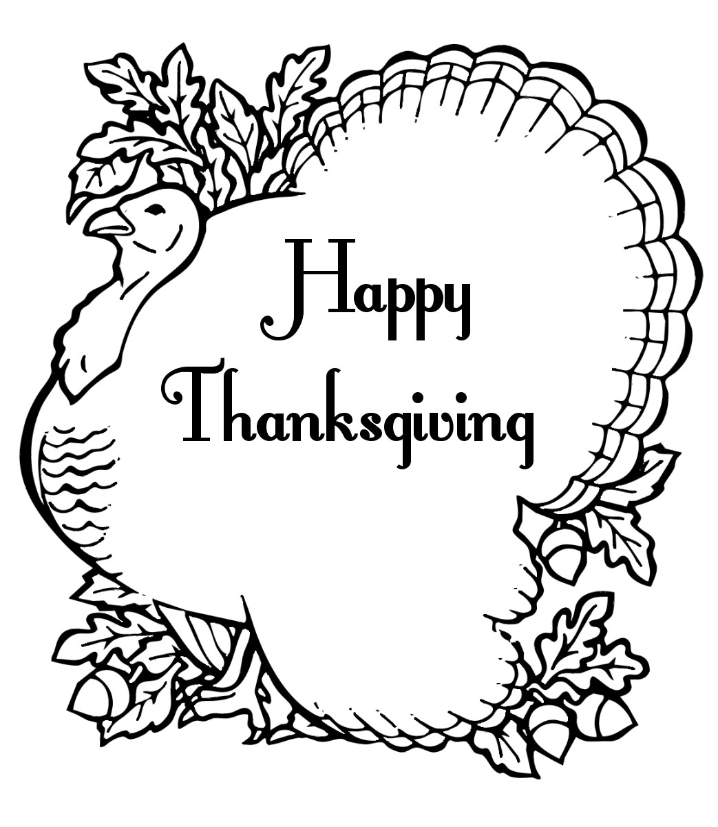 30 Of the Best Ideas for Thanksgiving Turkey Coloring ...