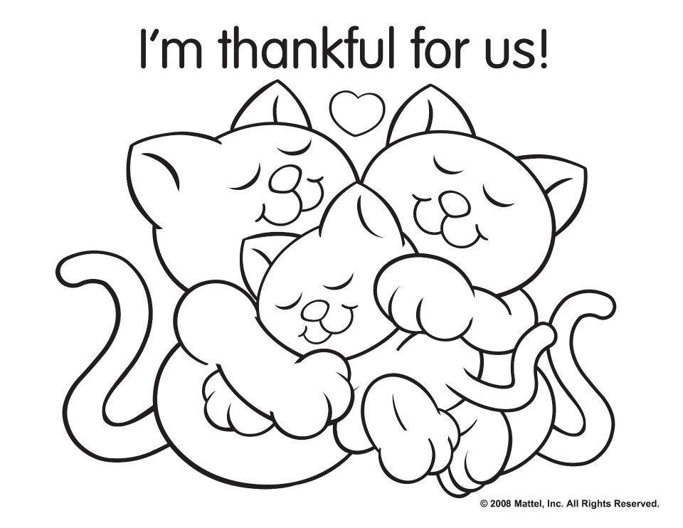 Thanksgiving Coloring Pages - Itsy Bitsy Fun | 742x960