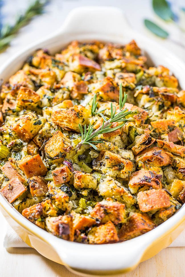 Thanksgiving Turkey Dressing  The 12 Best Stuffing Recipes Ever