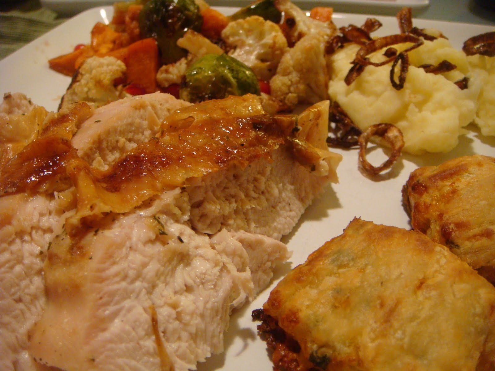Thanksgiving Turkey For Two  Delicious Dishings Mini Thanksgiving Dinner For Two