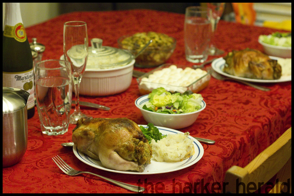 Thanksgiving Turkey For Two  The Harker Herald Thanksgiving Dinner for Two