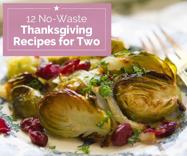 Thanksgiving Turkey For Two  12 No Waste Thanksgiving Recipes for Two thegoodstuff