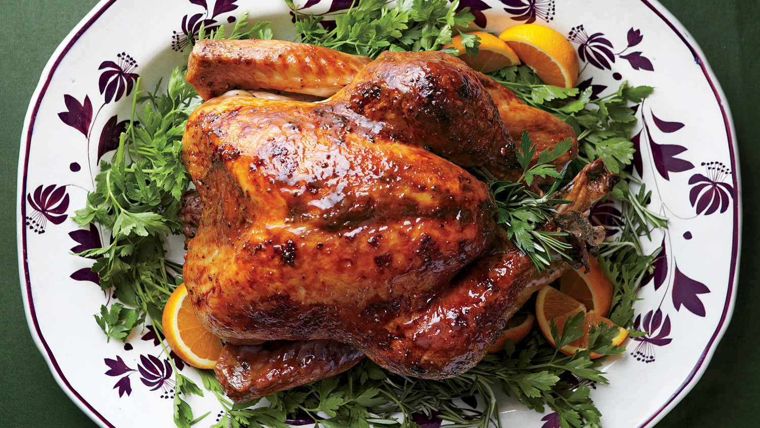 Thanksgiving Turkey For Two  Turkey with Brown Sugar Glaze