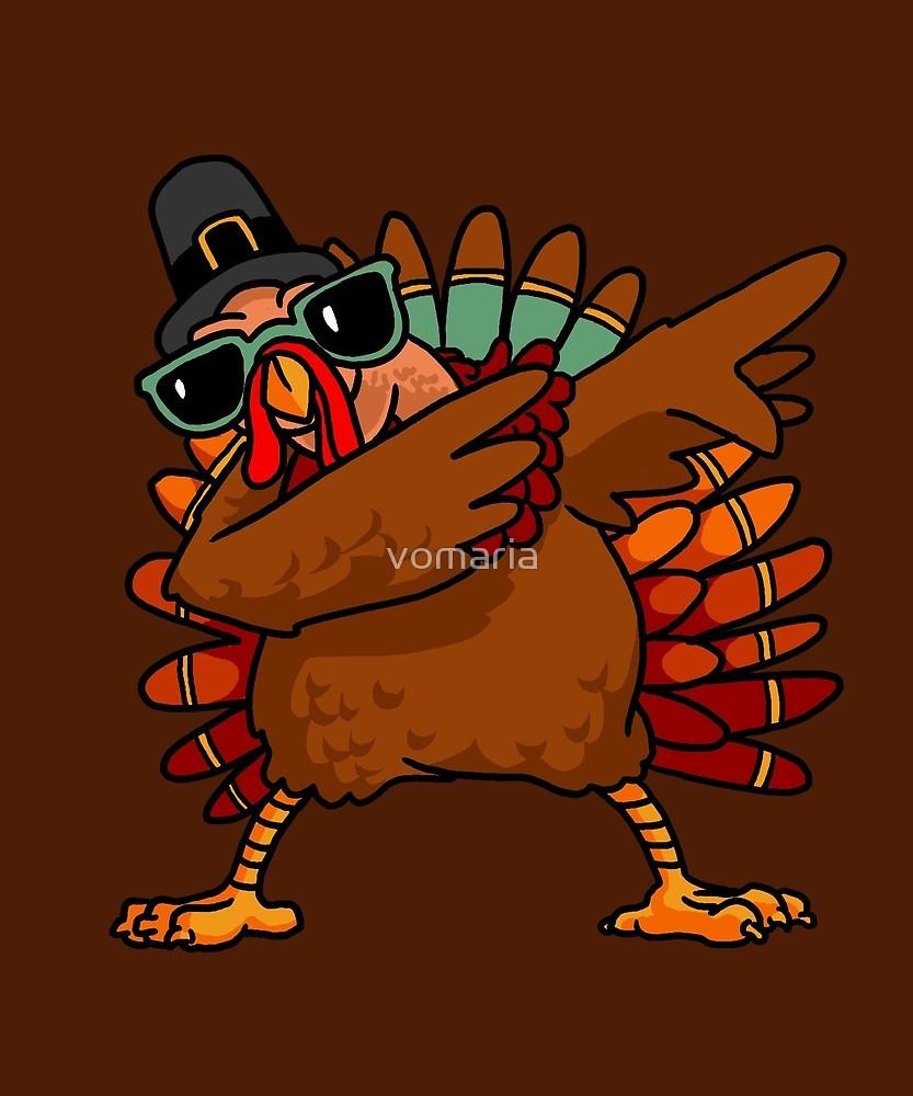 Thanksgiving Turkey Images Funny  Dabbing Turkey Shirt Chemise drôle Costume de dinde de
