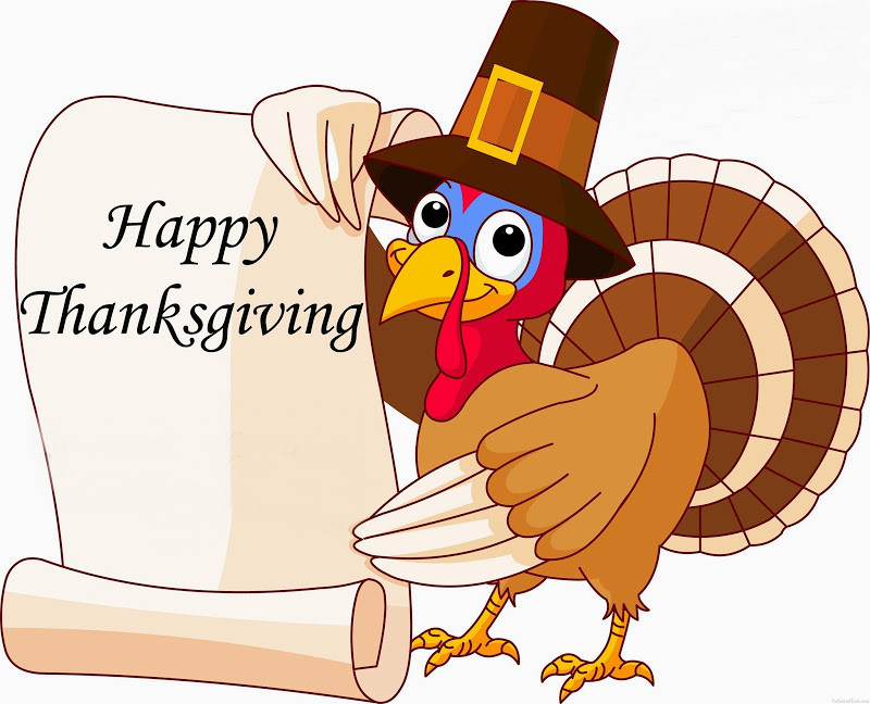 Thanksgiving Turkey Images Funny  Happy Thanksgiving From All of Us at Foxcroft Academy