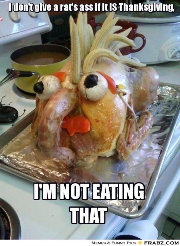 Thanksgiving Turkey Memes  Turkey Tight End