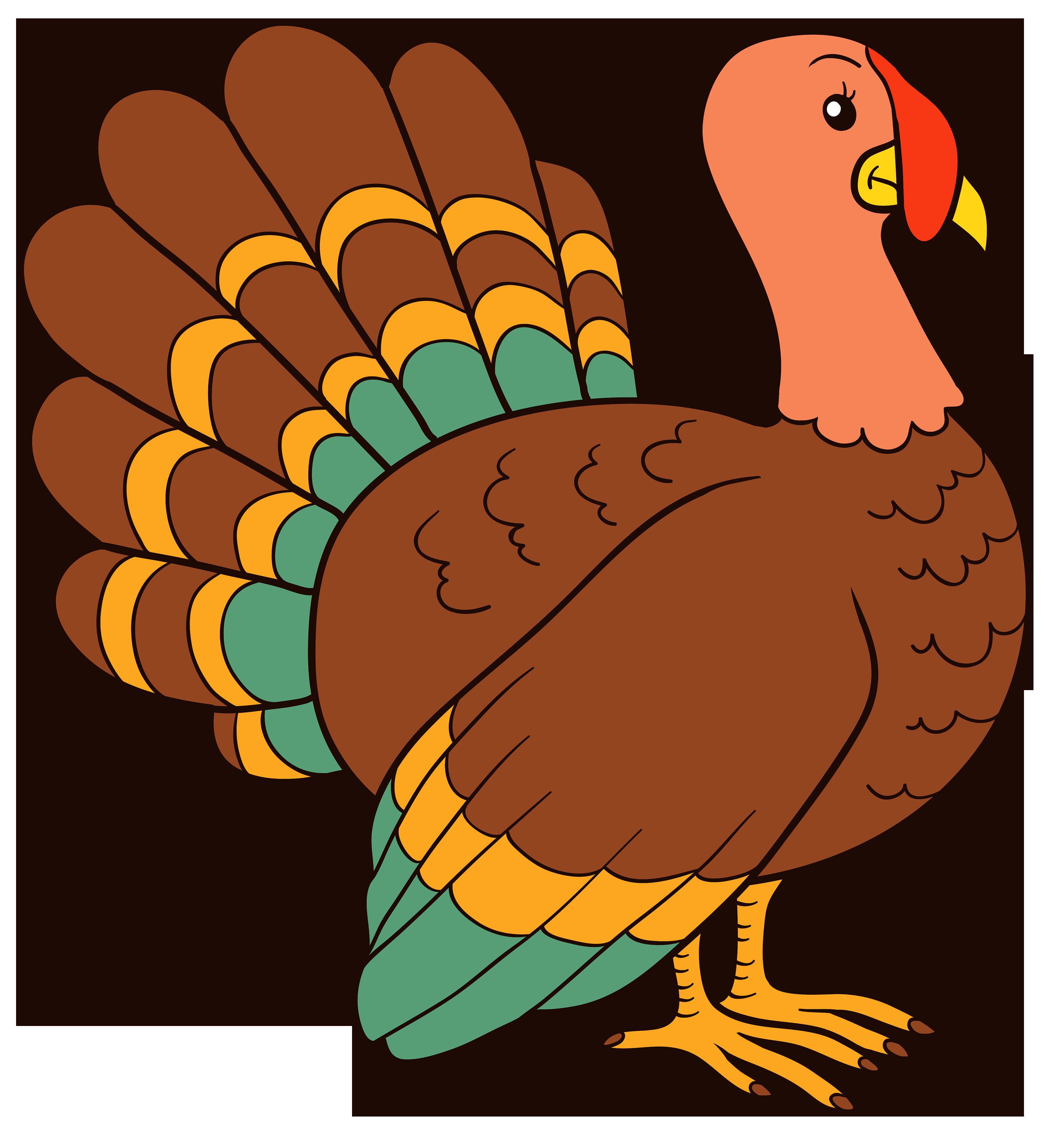 Thanksgiving Turkey Pictures Free  Turkey PNG Clipart Image Best WEB Clipart