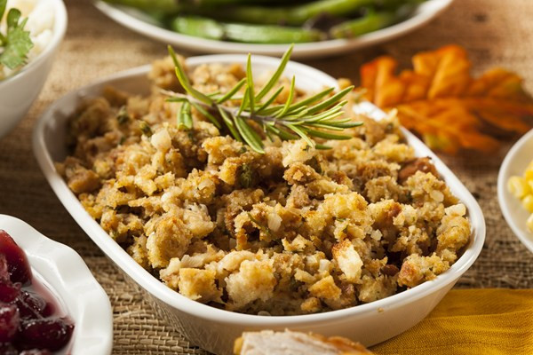 Thanksgiving Turkey Recipe With Stuffing  Thanksgiving Stuffing Cheat Using Stove Top