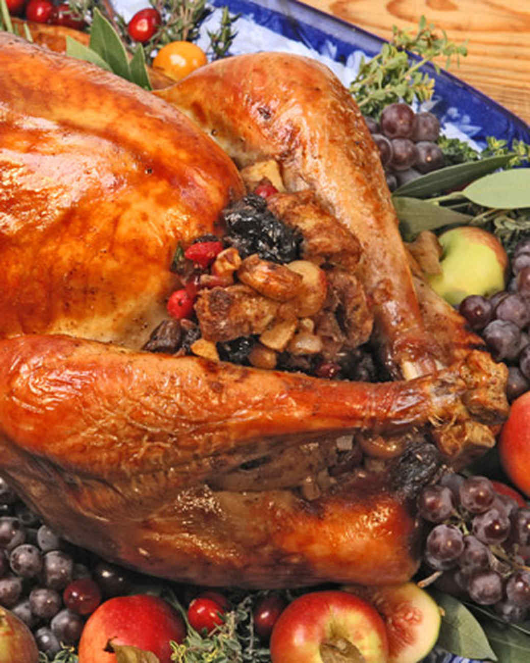 Thanksgiving Turkey Recipe With Stuffing  38 Terrific Thanksgiving Turkey Recipes