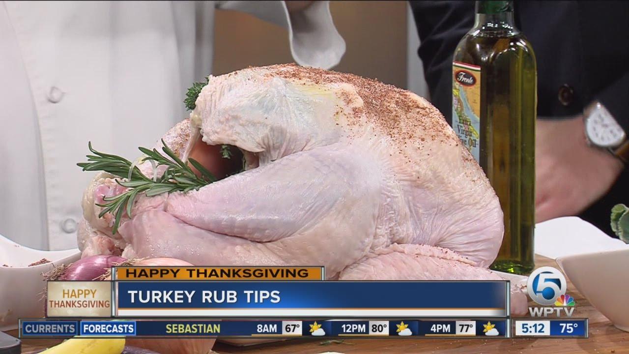 Thanksgiving Turkey Rub  Thanksgiving turkey rub tips