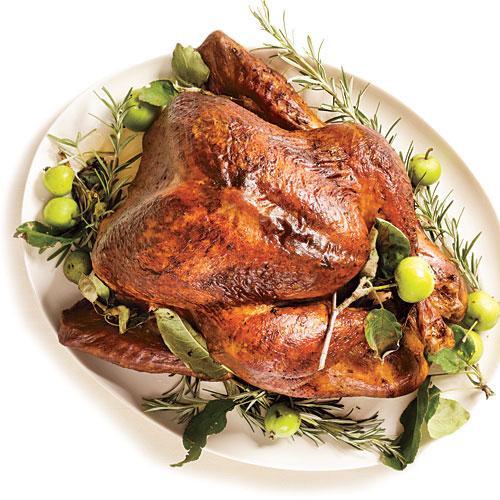 Thanksgiving Turkey Rub  Roasted Turkey with Rosemary Garlic Butter Rub and Pan