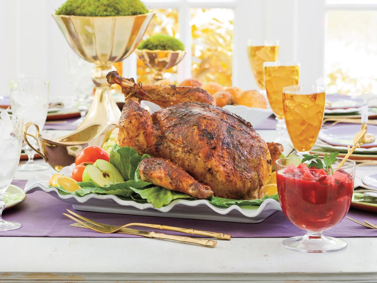 Thanksgiving Turkey Rub  Smoked Turkey Rub Herb Rub Recipe Southern Living