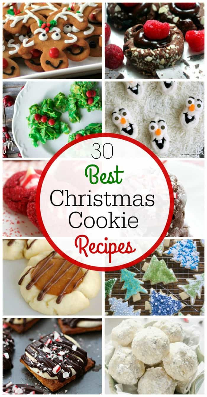 The Best Christmas Cookies Recipes  The 30 Best Christmas Cookie Recipes LemonsforLulu