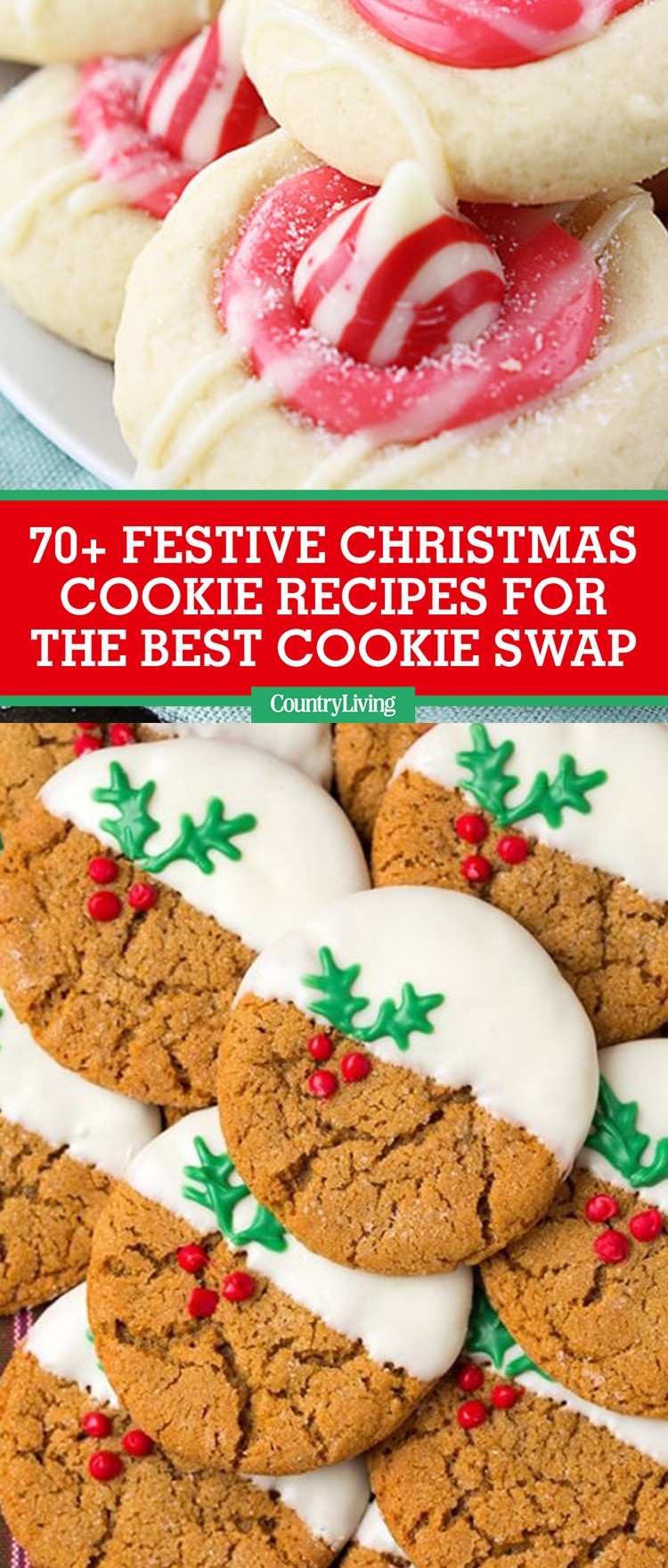 The Best Christmas Cookies Recipes  70 Best Christmas Cookie Recipes 2017 Easy Ideas for