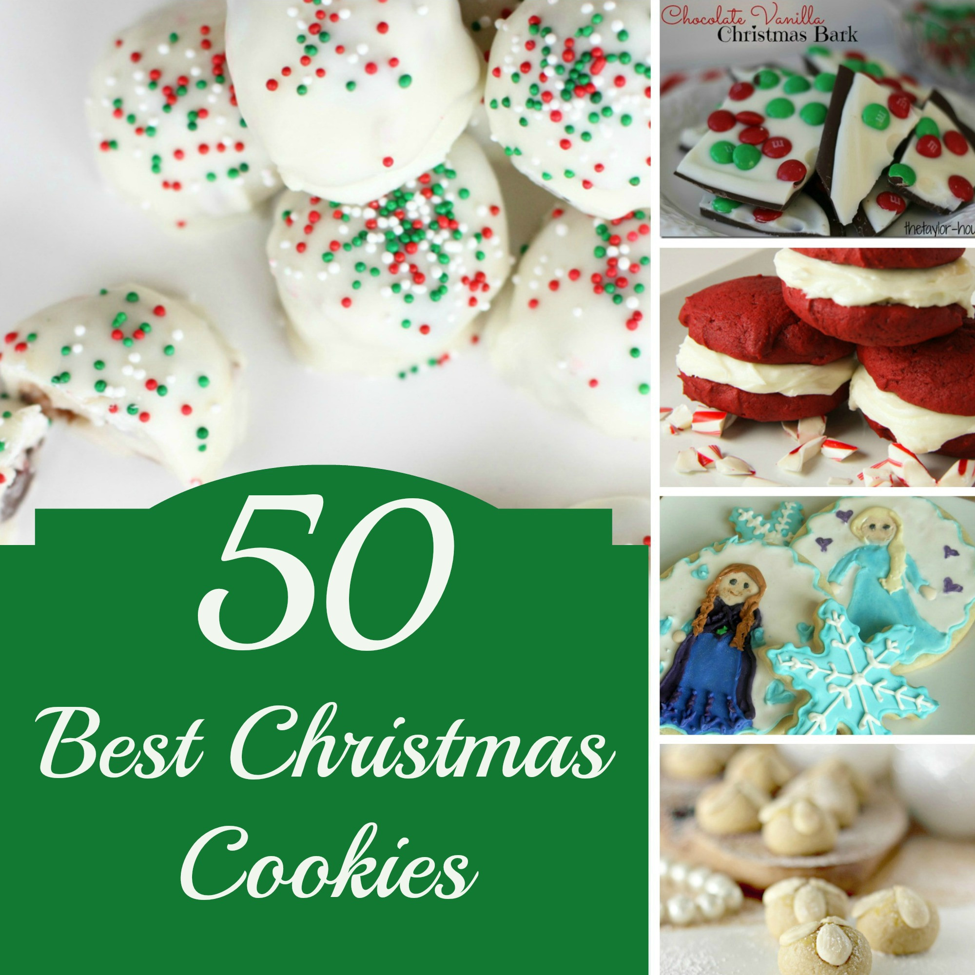 The Best Christmas Cookies Recipes  50 BEST Christmas Cookies to Make this Year
