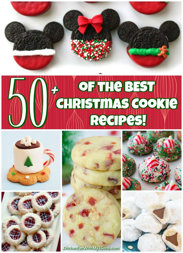 The Best Christmas Cookies Recipes  50 of the BEST Christmas Cookie Recipes Kitchen Fun