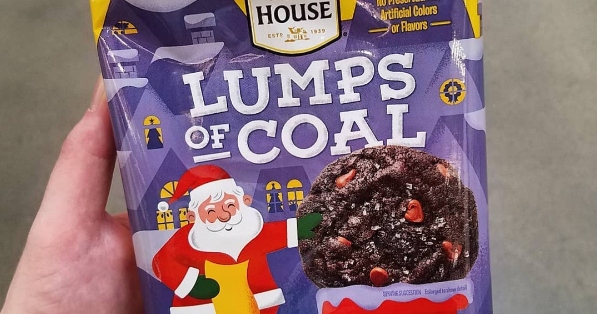 Toll House Christmas Cookies  Nestle Toll House s Lumps Coal Cookies Are Perfect For