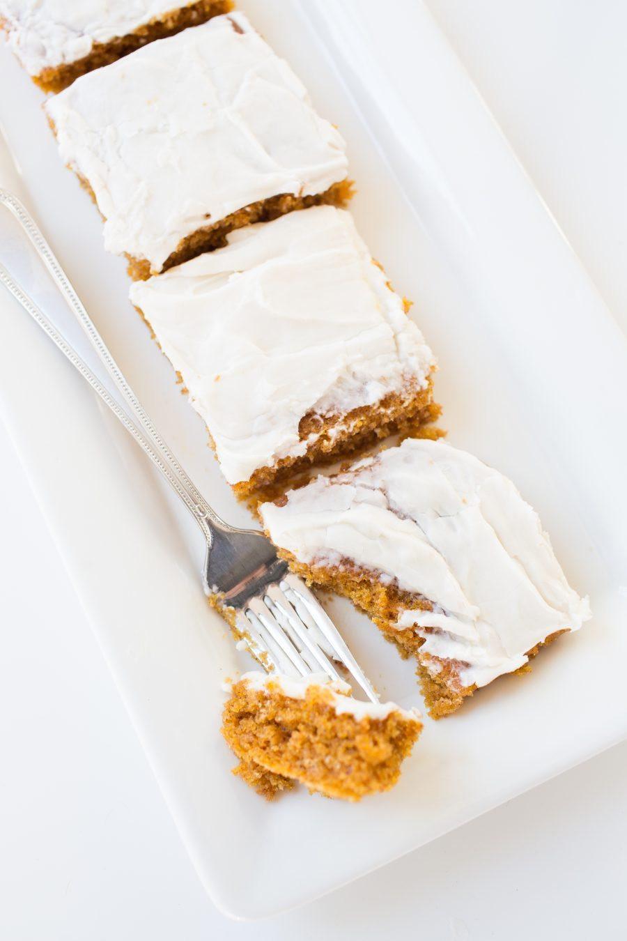 Top Thanksgiving Desserts  Best Thanksgiving Dessert Recipe Pumpkin Sheet cake