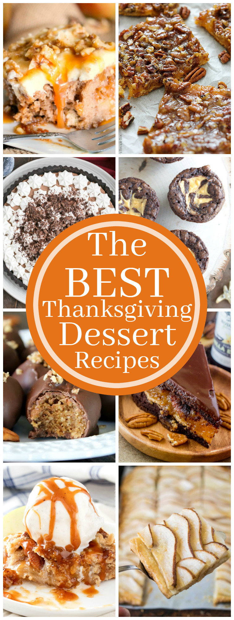 Top Thanksgiving Desserts  The Best Thanksgiving Dessert Recipes The Chunky Chef