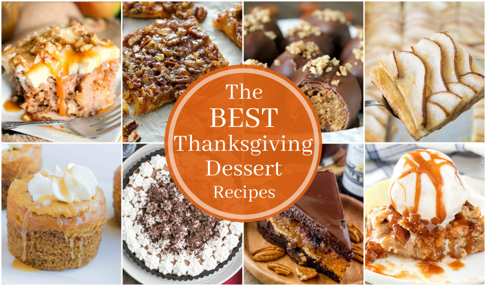 Top Thanksgiving Desserts  17 of the BEST Thanksgiving Dessert Recipes Big Bear s Wife
