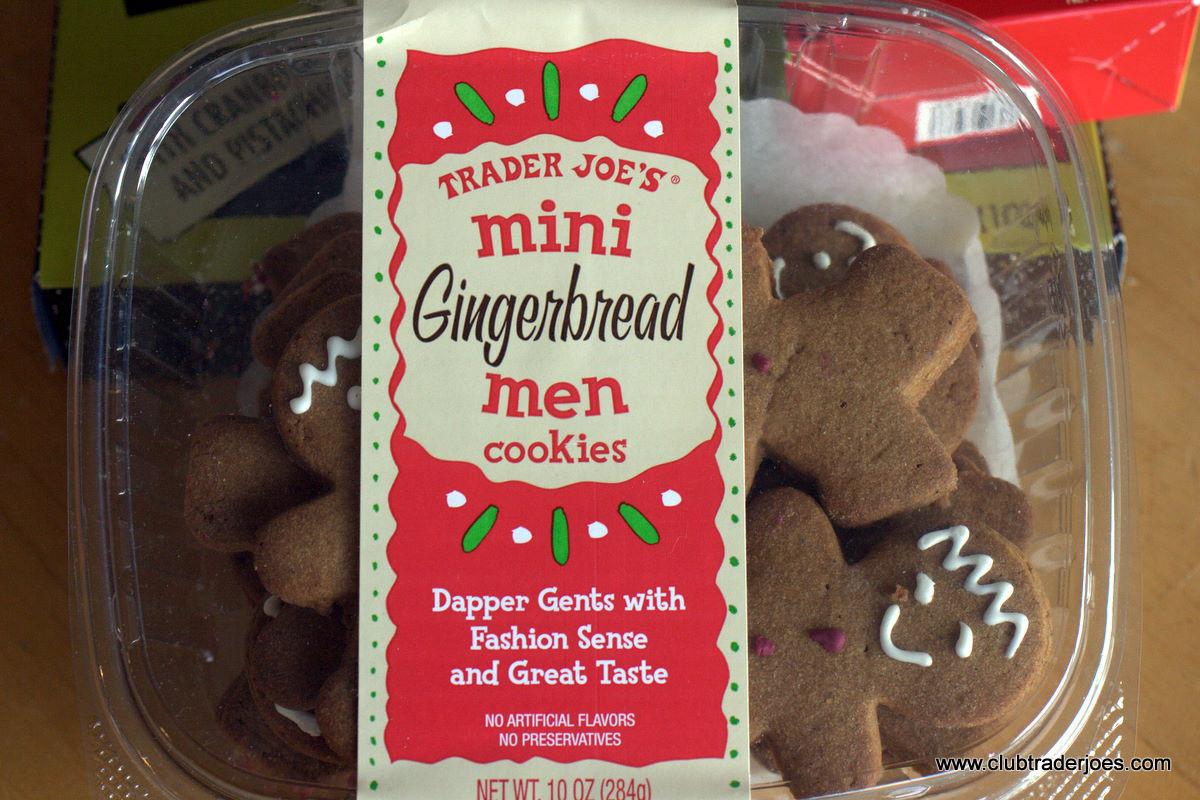 Trader Joe'S Christmas Cookies  Trader Joe's Mini Gingerbread Men Cookies
