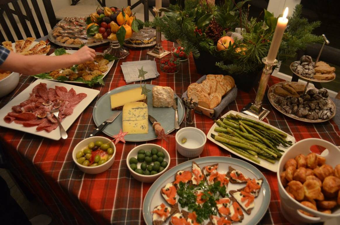 Traditional American Christmas Dinner  An Italian American Christmas