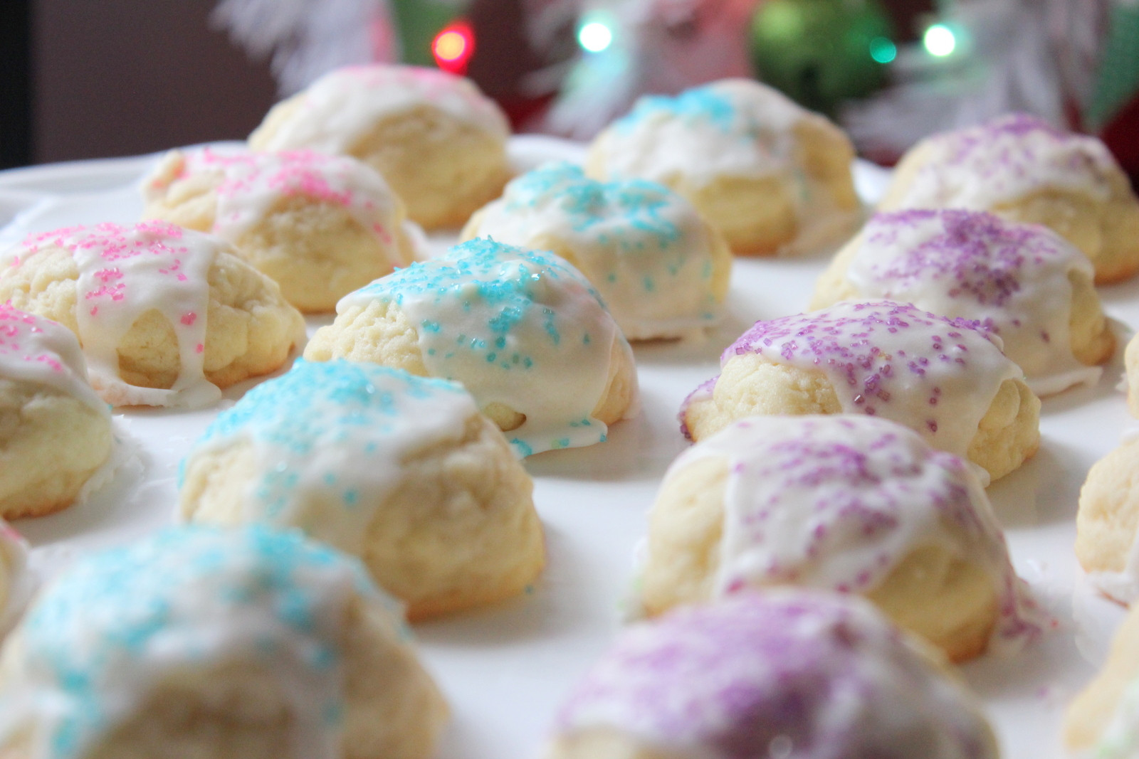 Traditional Christmas Cookies  Punkie Pie s Place Butter Drop Cookies A Family