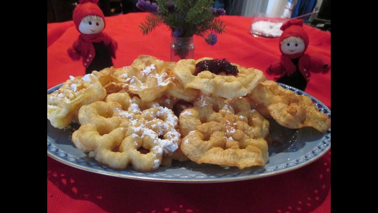 Traditional Christmas Cookies  Scandinavian Rosette Cookies A traditional homemade