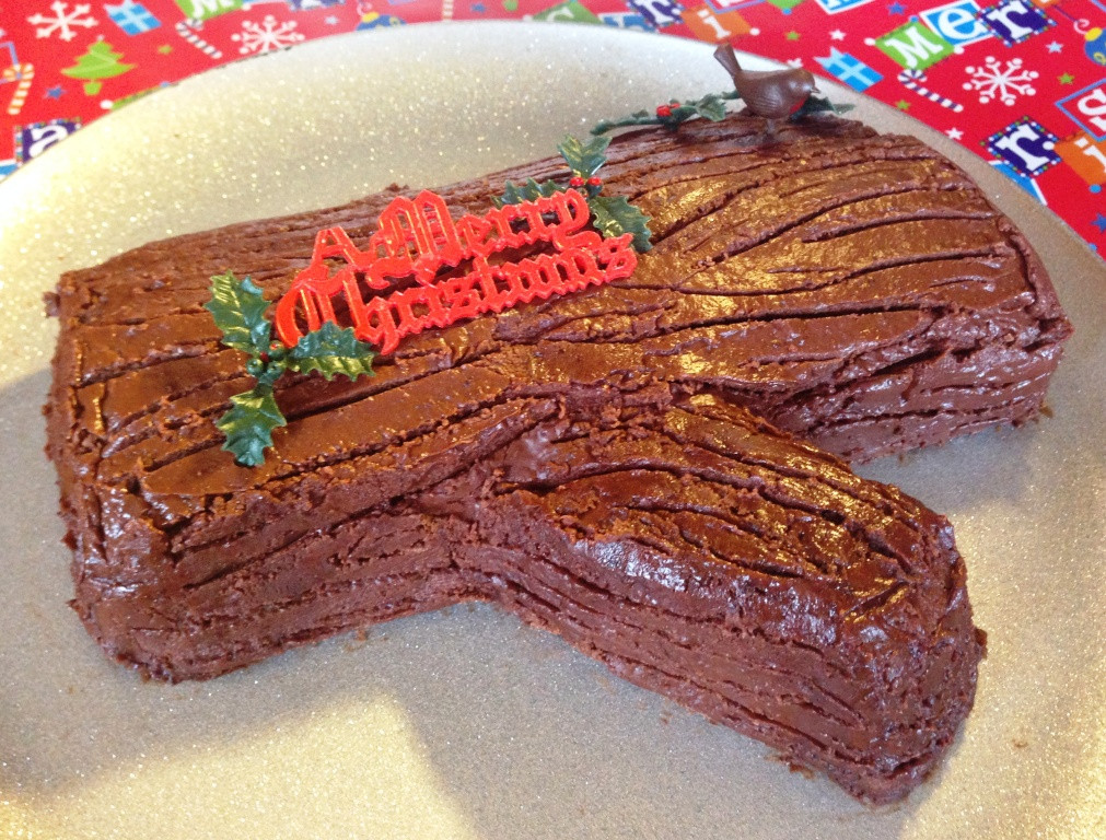 Traditional Christmas Desserts  Chocolate Yule Log – Christmas in June