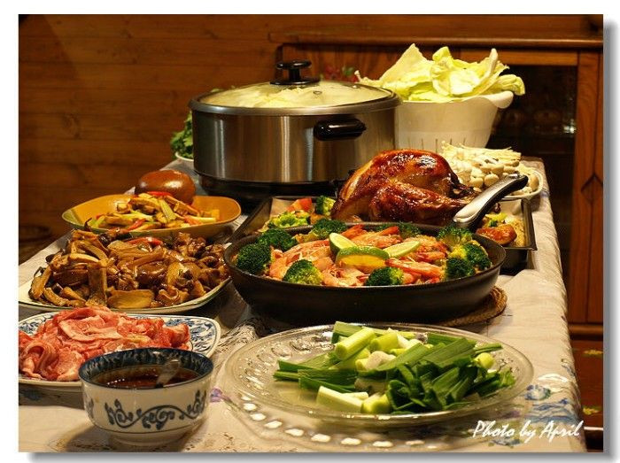Traditional Christmas Dinner Side Dishes  37 best Christmas Buffet Dinner images on Pinterest