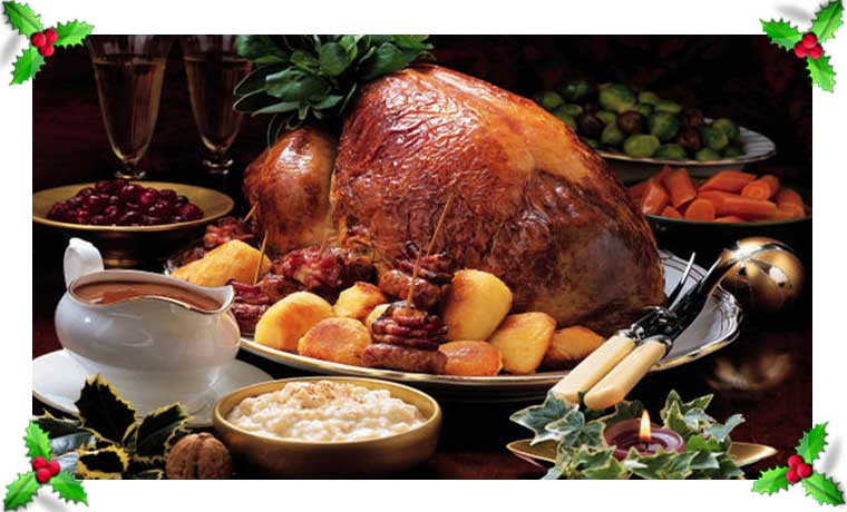 Traditional Christmas Dinners  The Bloomin Couch Christmas dining traditional or modern