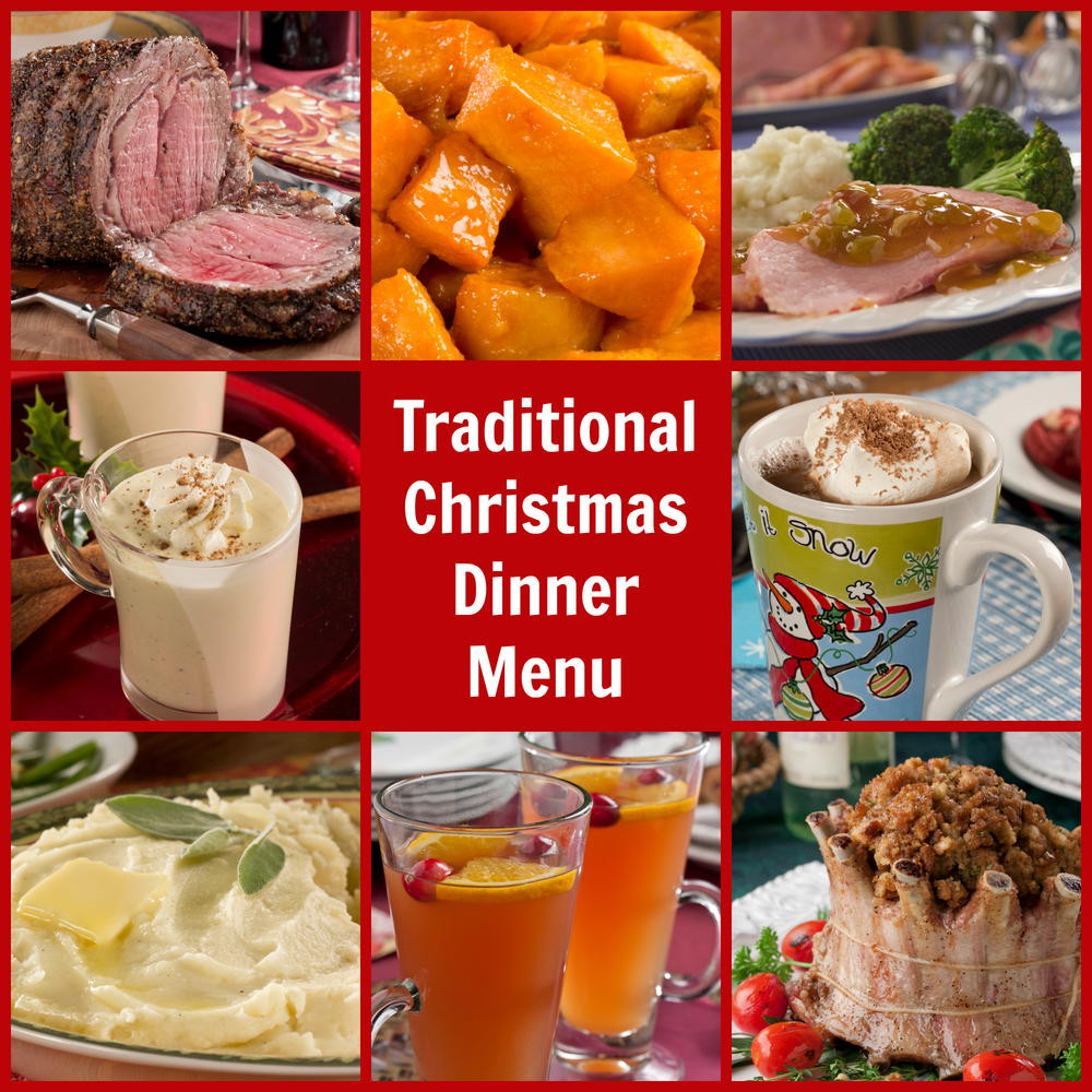 Traditional Christmas Dinners  Traditional Christmas Dinner Menu