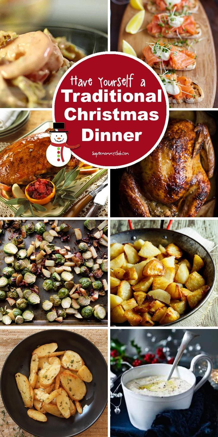 Traditional Christmas Dinners  25 best ideas about Christmas Dinner Menu on Pinterest