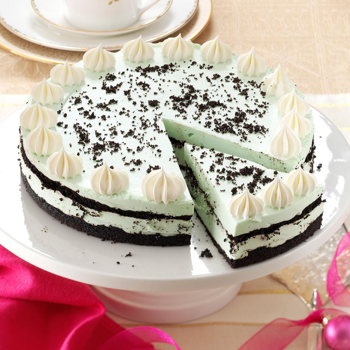 Traditional Irish Christmas Desserts  Grasshopper Cheesecake Recipe
