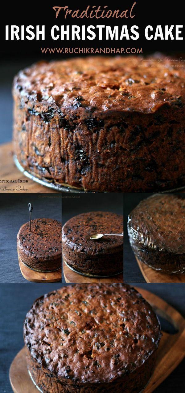 Traditional Irish Christmas Desserts  Traditional Irish Christmas Cake Recipe cake