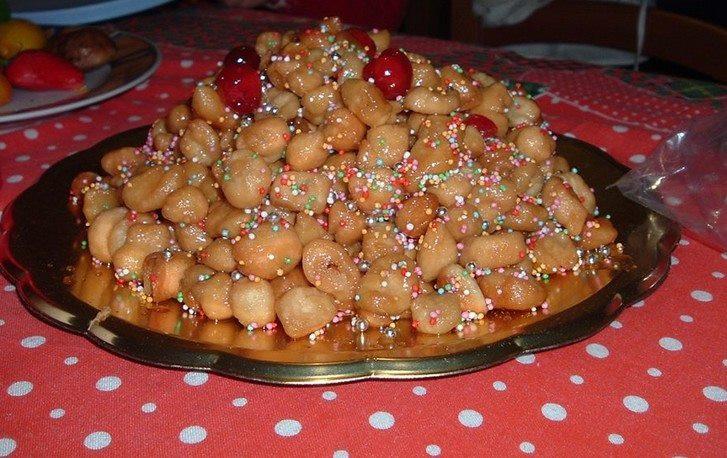 Traditional Italian Christmas Desserts  Struffoli A typical Italian Christmas Dessert – By