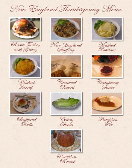 Traditional Thanksgiving Dinner Menu List  What is a traditional Thanksgiving dinner service at home