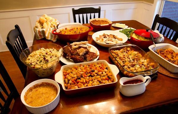 Traditional Thanksgiving Dinner Menu List  Thanksgiving or Black Friday Eve – Smoke Signal