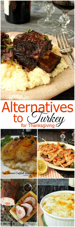 Turkey Alternatives For Thanksgiving  Alternatives to Turkey for Thanksgiving Call Me PMc