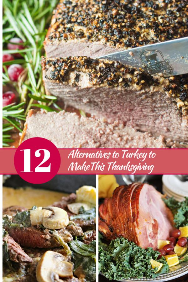 Turkey Alternatives For Thanksgiving  12 Alternatives to Turkey to make this Thanksgiving