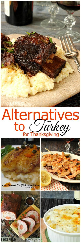 Turkey Alternatives Thanksgiving  Alternatives to Turkey for Thanksgiving Call Me PMc