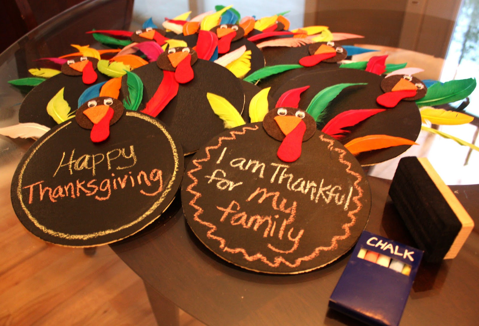 Turkey Decorations For Thanksgiving  Thanksgiving Centerpieces Repeat Crafter Me