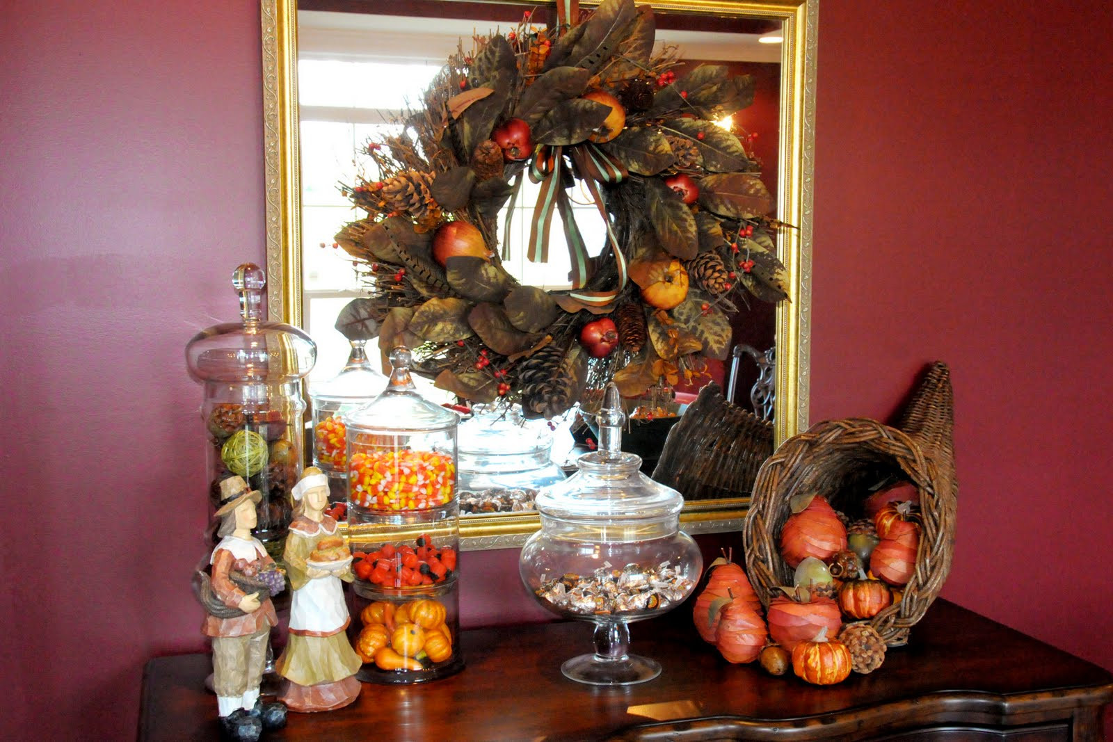 Turkey Decorations For Thanksgiving  Fall and Halloween Craft Ideas The Polka Dot Chair