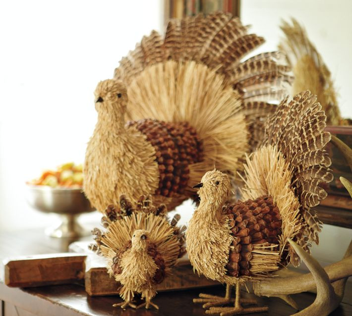 Turkey Decorations For Thanksgiving  Cool Turkey Decorations For Your Thanksgiving Table