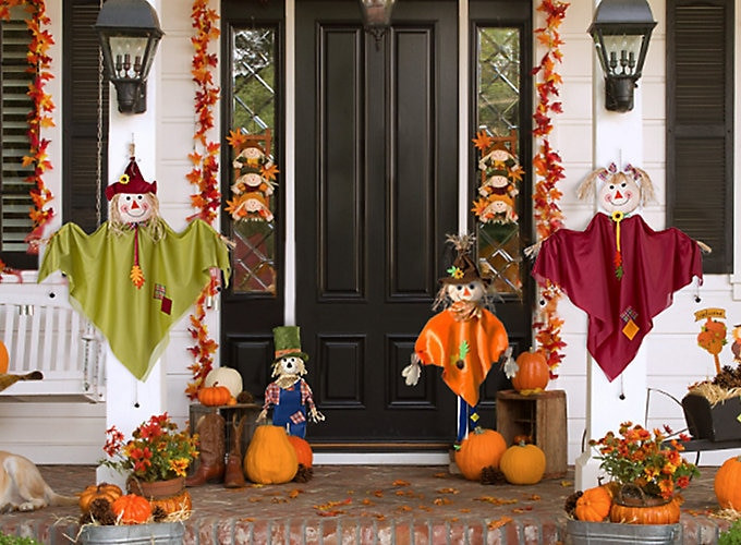 Turkey Decorations For Thanksgiving  Thanksgiving Decorating Ideas Party City